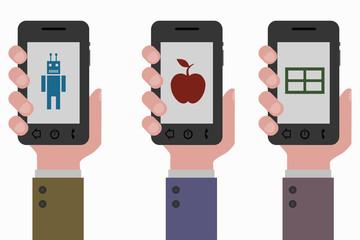 OSとは?スマホ選びの基本、iOS/Android/Windows Phoneの違いとは?